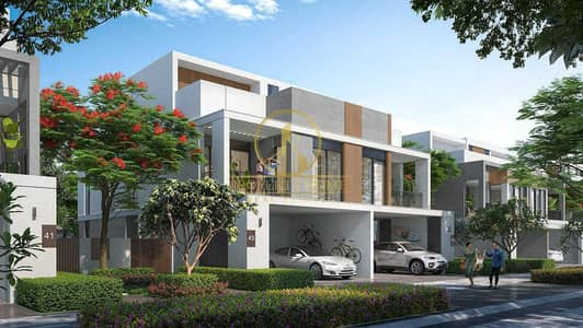 4 Bedroom Villa for Sale in Tilal Al Ghaf, Dubai - High Demanded 4 BHK Twin Villa   Single Row