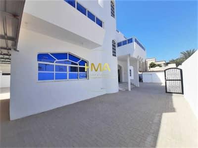 فیلا 6 غرف نوم للايجار في المطار، أبوظبي - فيلا مطار البطين تشطيب عالي- باركينغ داخلي وخارجي