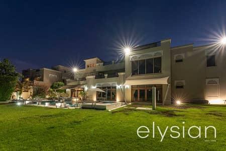 7 Bedroom Villa for Sale in Al Barari, Dubai - Magnificent Villa | Fountain View | Biggest Plot