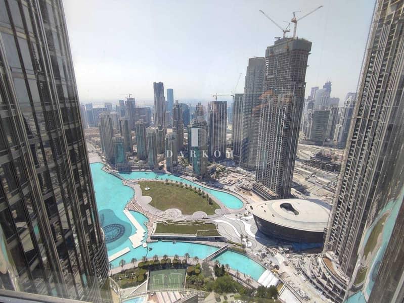 20 Burj Khalifa Tower | VACANT | 2 BR | Opera View | Unfurnished