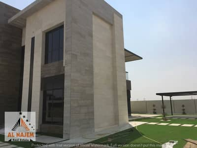5 Bedroom Villa for Sale in Hoshi, Sharjah - For sale villa in Hoshi area, Emirate of Sharjah, high-end design, perfect finishes, on the street