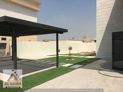 5 Bedroom Villa for Sale in Hoshi, Sharjah - For sale villa in Hoshi area, Emirate of Sharjah, high-end design, perfect finishes, on the street*