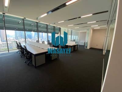 Office for Rent in DIFC, Dubai - FITTED OUT   SPACIOUS  BURJ KHALIFA VIEW