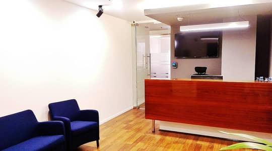 Office for Rent in Al Mamzar, Dubai - Reception