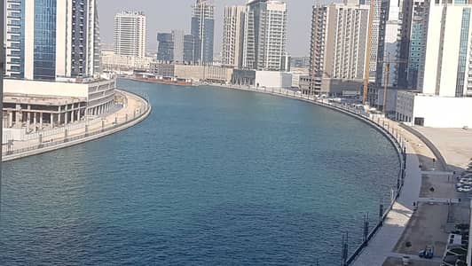 Spacious 1 Bedroom + Hall For Rent@45k In Mayfair Tower With Partial Canal View Business Bay