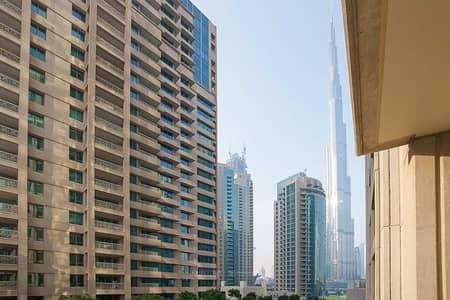 Spacious 1 Bedroom Plus Study | Burj Khalifa View