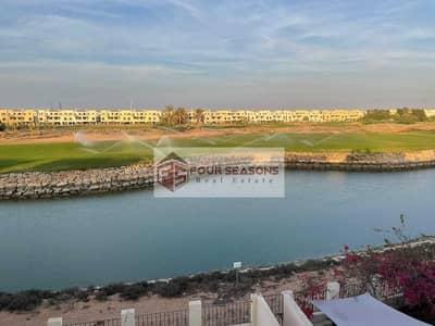 3 Bedroom Townhouse for Rent in Al Hamra Village, Ras Al Khaimah - Lagoon View 3BHK Townhouse Al Hamra Village