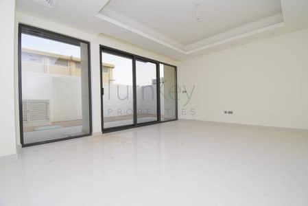 تاون هاوس 3 غرف نوم للايجار في (أكويا أكسجين) داماك هيلز 2، دبي - Single Row   Corner Unit   Opp Pool and Park