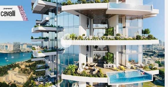 شقة 3 غرف نوم للبيع في دبي مارينا، دبي - Beach & Palm-facing luxury apartments. . .