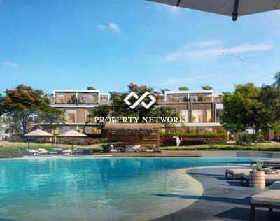 فیلا 4 غرف نوم للبيع في تلال الغاف، دبي - Pool & Park facing I Twin Villa I Exclusive I Resale
