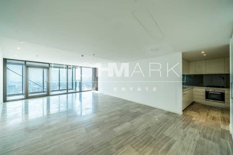 Upcoming 2 Bedroom | High Floor | Unfurnished