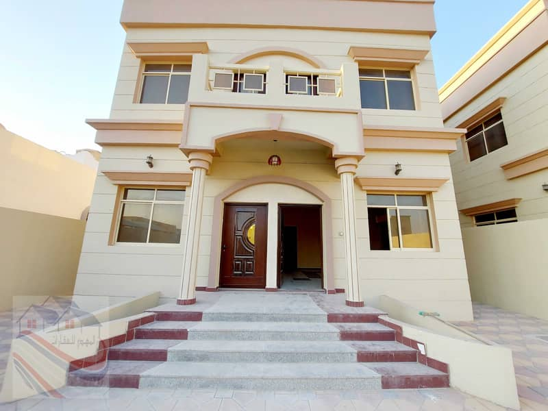 A new villa for sale at an affordable price, a personal design for the owners of a high-end market, suitable for bank financing without down payment,