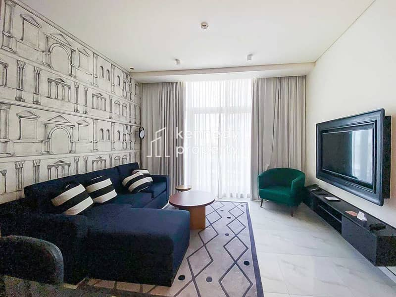 Fully Furnished | Hotel Apartment | Modern Layout