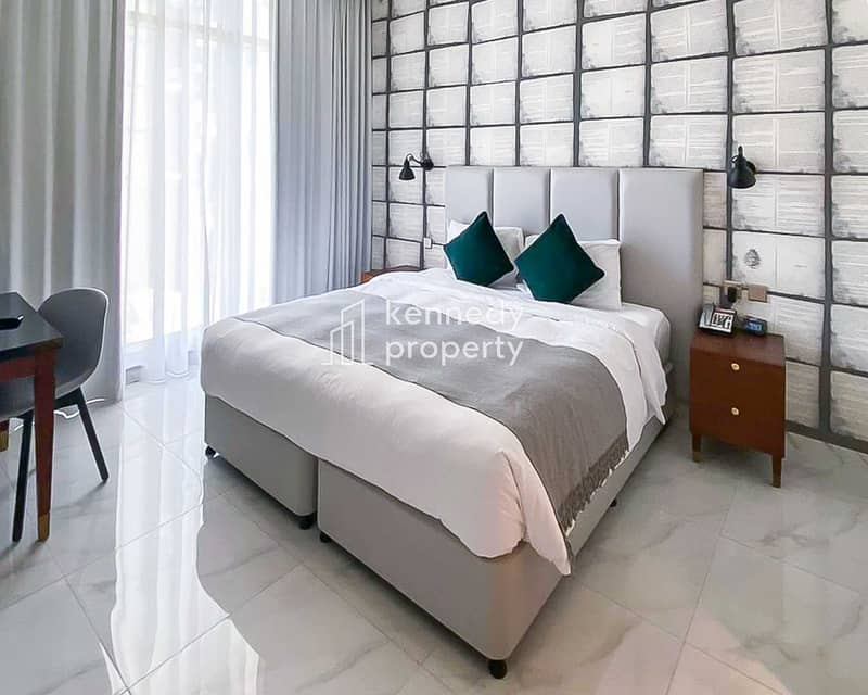 2 Fully Furnished | Hotel Apartment | Modern Layout