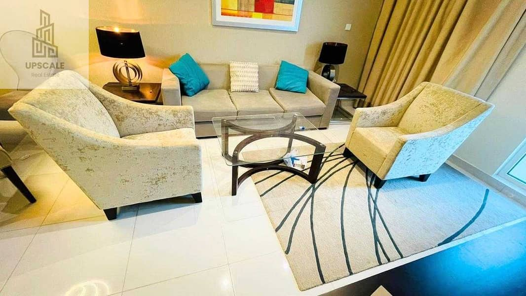 2 An Exquisite Fully Furnished Apartment Located in Highly Sought after Location in Dubai south  to Rent