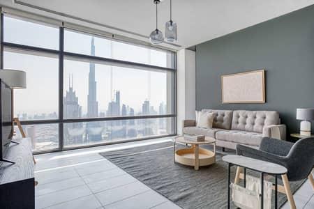 فلیٹ 2 غرفة نوم للايجار في مركز دبي المالي العالمي، دبي - Index Tower Apartment XXXI