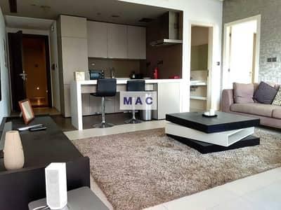فلیٹ 1 غرفة نوم للايجار في دبي مارينا، دبي - شقة في ويست أفينيو دبي مارينا 1 غرف 85000 درهم - 5254495