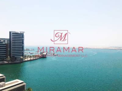 3 Bedroom Flat for Rent in Al Raha Beach, Abu Dhabi - FULL SEA VIEW   LARGE 3B+MAIDS APARTMENT   LARGE BALCONY