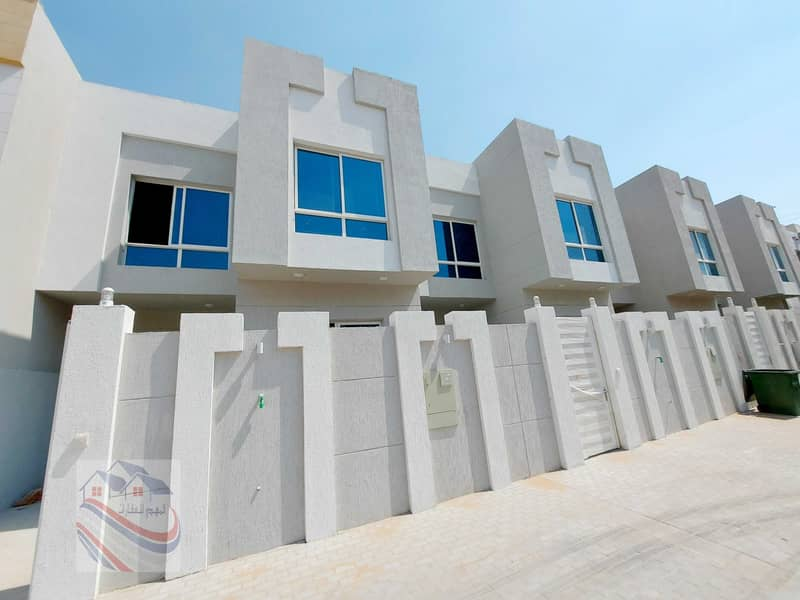 Own a villa with a very elegant design close to all services and easy monthly installments.