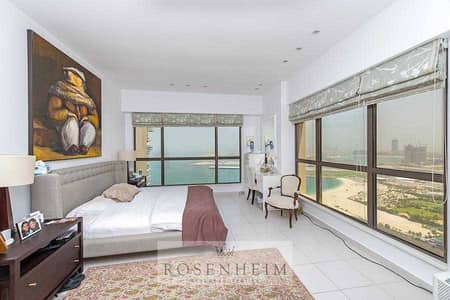 4 Bedroom Flat for Sale in Jumeirah Beach Residence (JBR), Dubai - First Beach Line | Panoramic Sea View | Renovated.
