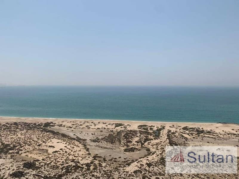 Lovely Semi Furnished  Studio High Floor  Sea View For Rent