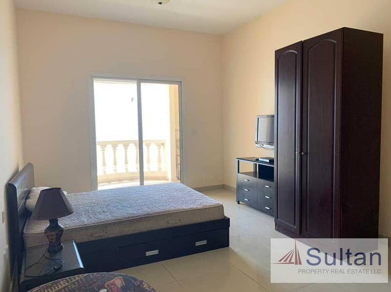 2 Lovely Semi Furnished  Studio High Floor  Sea View For Rent