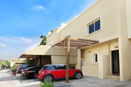 2 Bedroom Villa for Rent in Al Reef, Abu Dhabi - Vacant! Semi-Single Row 2 BR Arabian Villa For 2 Payments