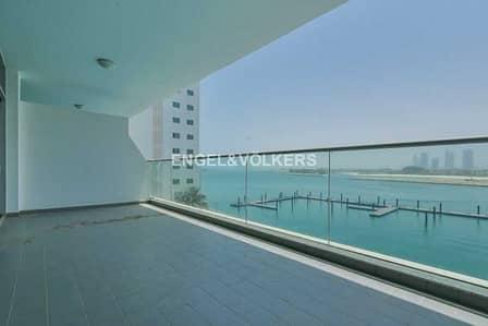 شقة 1 غرفة نوم للبيع في نخلة جميرا، دبي - Bright and Spacious | Vacant Now | Full Sea View