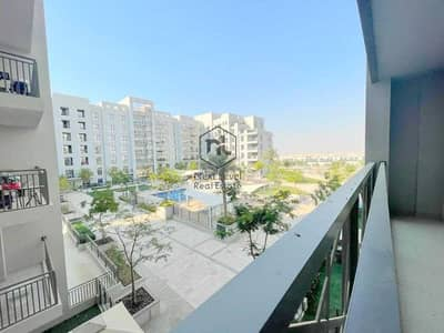 2 Bedroom Flat for Rent in Town Square, Dubai - AWESOME POOL VIEW LARGE 2 BED ROOM+BALCONY+PARKING | SAFI | TOWN SQUARE