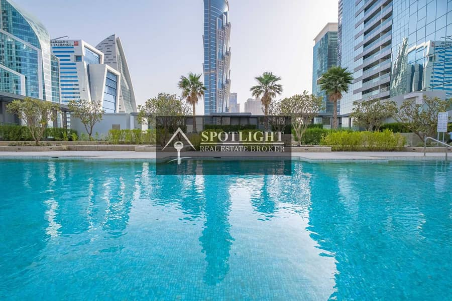 Brand New 2-Br   With Balcony    Great View   Business Bay