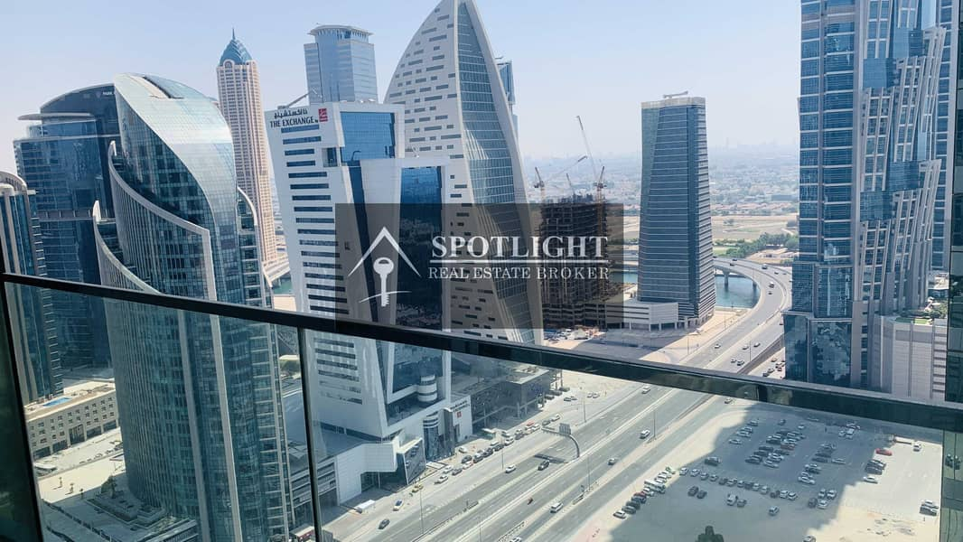 2 Brand New 2-Br   With Balcony    Great View   Business Bay