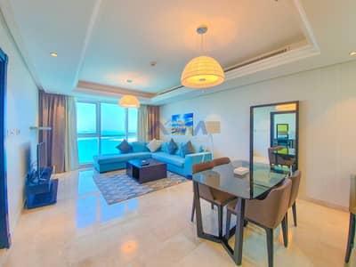 شقة 1 غرفة نوم للايجار في منطقة الكورنيش، أبوظبي - Fully Furnished ! 1BHK with High End Quality.