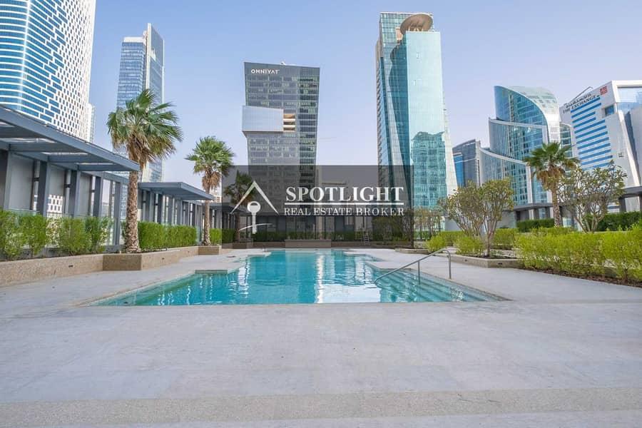 New Tower | 1-Br + Maid | Burj Khalifa View | Walk To Metro | Lowest Price