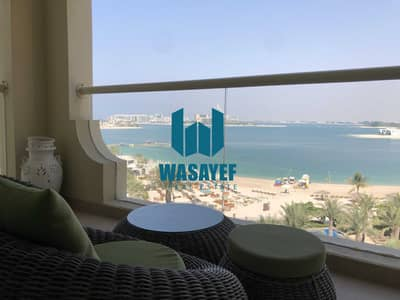 1 Bedroom Apartment for Rent in Palm Jumeirah, Dubai - 1BR Shoreline 10 | Sea View | Furnished