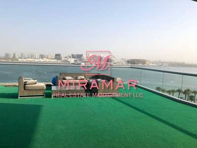 2 Bedroom Apartment for Sale in Al Raha Beach, Abu Dhabi - HOT DEAL! FULL SEA VIEW   LUXURY APARTMENT WITH LARGE TERRACE