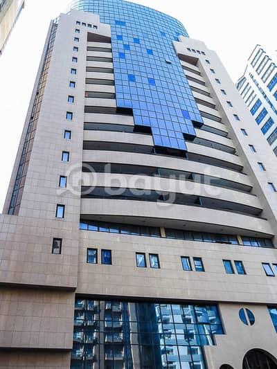 شقة 4 غرف نوم للايجار في الزاهية، أبوظبي - شقة في برج السلام الزاهية 4 غرف 80000 درهم - 5410226