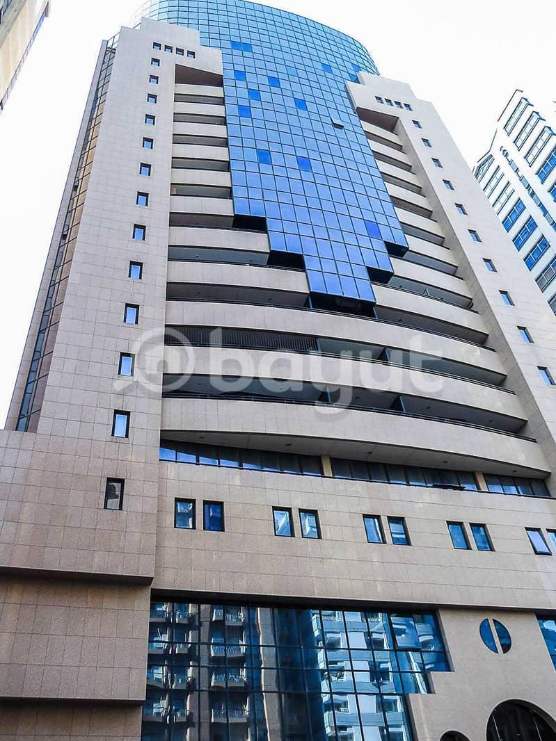شقة في برج السلام الزاهية 4 غرف 80000 درهم - 5410226