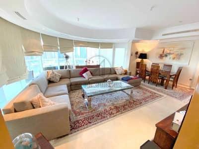 شقة 3 غرف نوم للايجار في دبي مارينا، دبي - Unfurnished - Upgraded 3 BR Maid Study