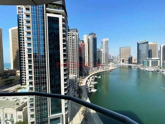 2 Ready to move-in   Furnished   Full Marina view   Balcony
