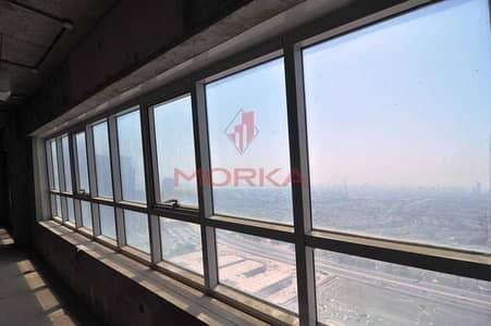 مکتب  للبيع في أبراج بحيرات الجميرا، دبي - Exclusive | Shell and core | High floor | Great location