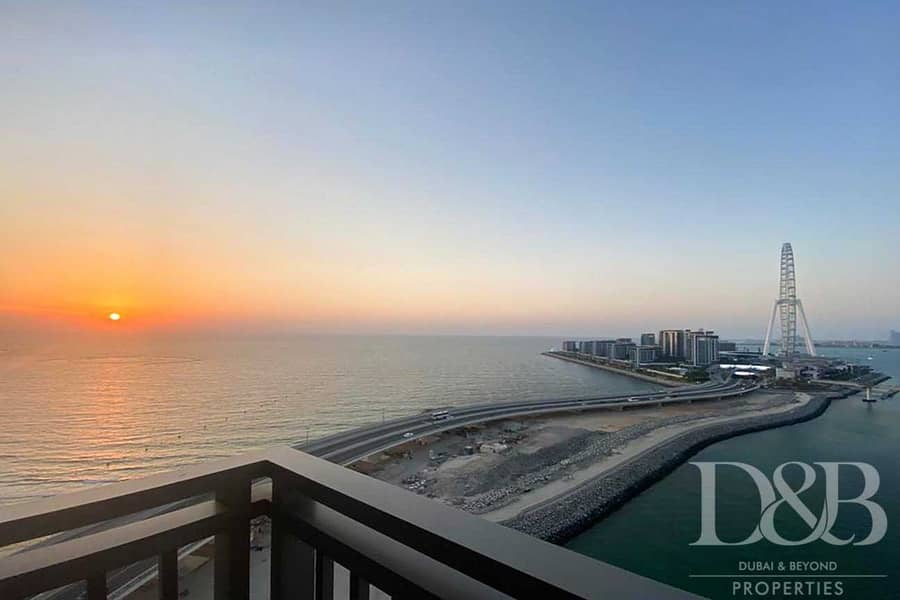 Full Sea View | High Floor | Ready for Rent