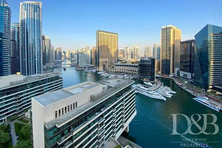 فلیٹ 1 غرفة نوم للايجار في دبي مارينا، دبي - Furnished | Chiller Free | Available Now