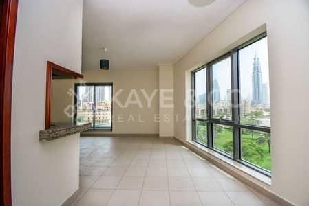 فلیٹ 2 غرفة نوم للبيع في وسط مدينة دبي، دبي - Large Apartment | Burj Khalifa View | Low Floor