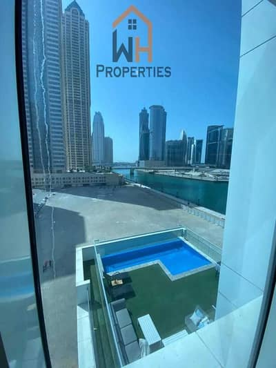 1 Bedroom Apartment for Rent in Business Bay, Dubai - Furnished ~ Canal view  ~ Flexible Cheques