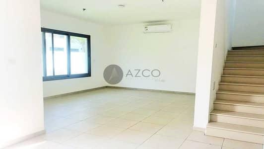 تاون هاوس 3 غرف نوم للايجار في تاون سكوير، دبي - 3 غرف نوم | مع غرفة خادمة | مناظر طبيعية