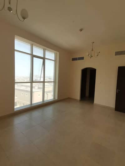 2 Bedroom Flat for Rent in Dubai Silicon Oasis, Dubai - Large Size 2BHK + Maid Room | Closed Kitchen | Big Balcony | Villa View |  Neat and Clean Building @60K - Call Hager