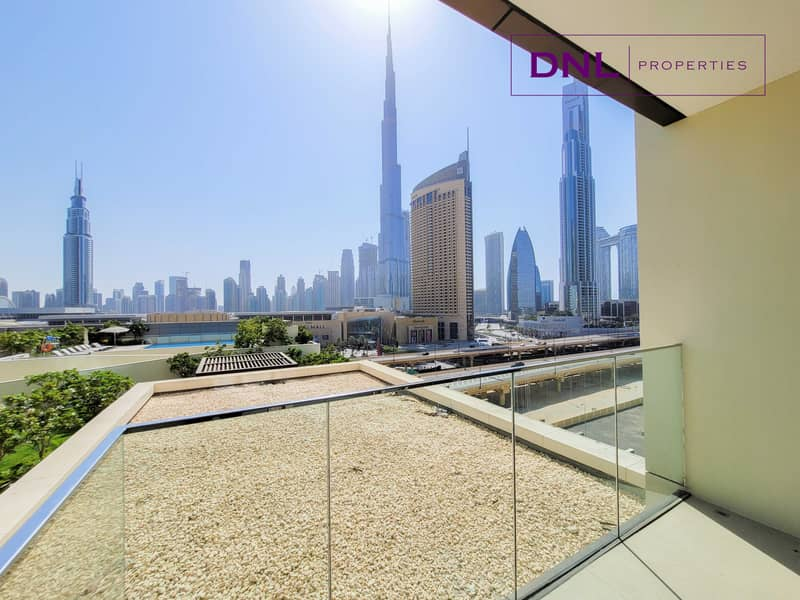 Connected to Dubai Mall | SPACIOUS LAYOUT
