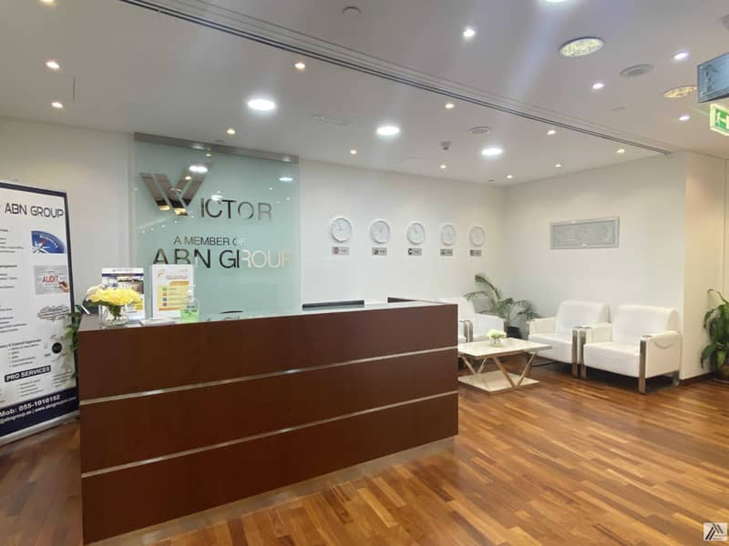 2 Serviced Furnished Office Suitable for 4 Staff / Linked with Metro and Mall