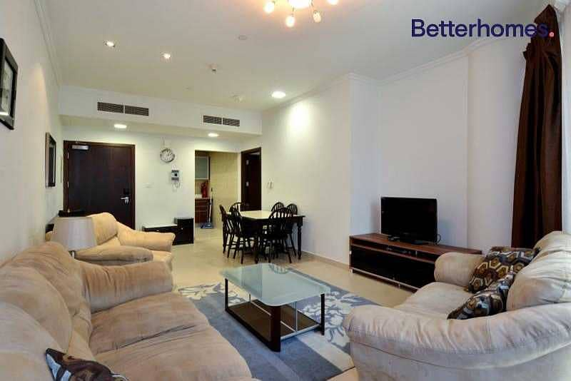 Ready To Move In | Higher Floor | Furnished.