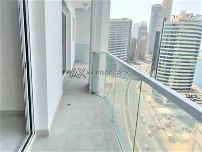 2 Bedroom Flat for Rent in Business Bay, Dubai - Brand New 2 Bed with 2 Balcony | High Floor | With very  beautiful views